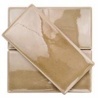 Soho Studio Baroque Crackled Series Firma 3x6 Subway Glass Tile