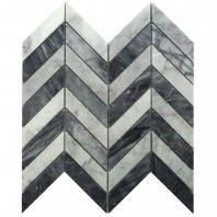Soho Studio Falcon White Carrara and Bardiglio FLCNWTCRBARDG