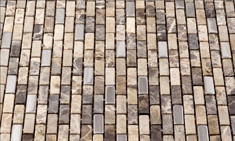 Muro Series Roman Stone Mosaic Tile Mm01
