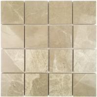Soho Studio Kashmir 3x3 Taupe Mosaic TLPAMKM3X3TAUPE