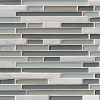 MSI Stone Keystone Blend Interlocking Mosaic Backsplash THDW1-SH-KBI-8MM