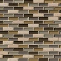 MSI Stone Luxor Valley Brick Mosaic Backsplash THDW1-SH-LV-8MM