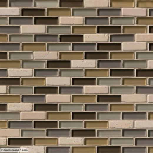 MSI Stone Luxor Valley Brick Mosaic Backsplash THDW1-SH-LV-8MM