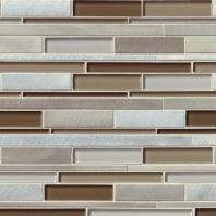 MSI Stone Madison Avenue Interlocking Mosaic Backsplash SMOT-GLSMTIL-MA8MM