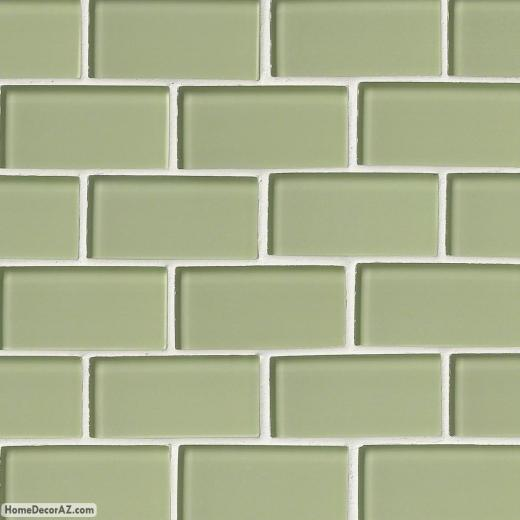 MSI Stone Mint Green Subway Mosaic Backsplash SMOT-GLSST-MG8MM