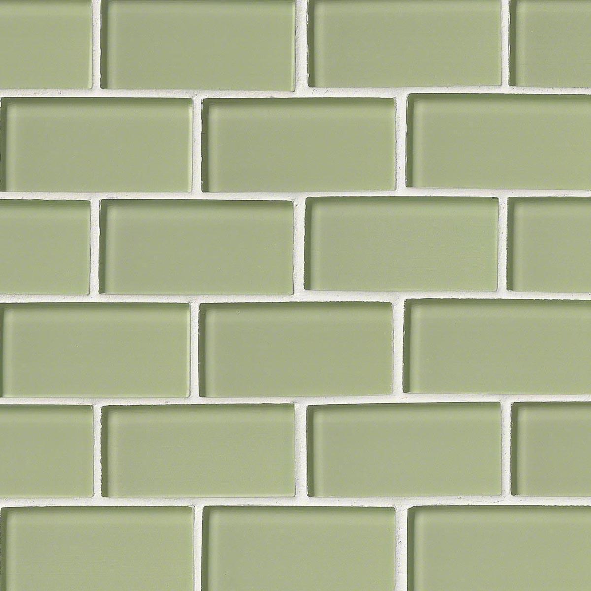 Msi Stone Mint Green Subway Mosaic
