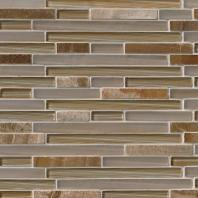 MSI Stone Pelican Sand Interlocking Mosaic Backsplash SMOT-SGLSIL-PS8MM