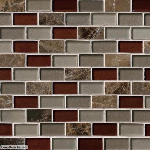 MSI Stone Royal Canyon Mosaic Backsplash SMOT-SGLS-RC8MM