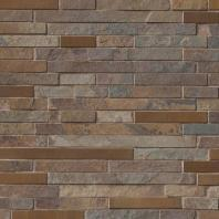 MSI Stone Rustic Creek Interlocking Mosaic Backsplash SMOT-SMTIL-RC8MM