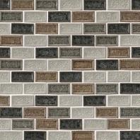 MSI Stone Sandy Beach Blend Brick Mosaic Backsplash SMOT-GLSGGBRK-SBB8MM