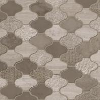 MSI Stone Arctic Storm Arabesque Multi Finish Mosaic Backsplash SMOT-AS-ARABESQUE