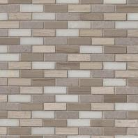 MSI Stone Arctic Storm Mini Brick Mosaic Backsplash SMOT-AS-10MM