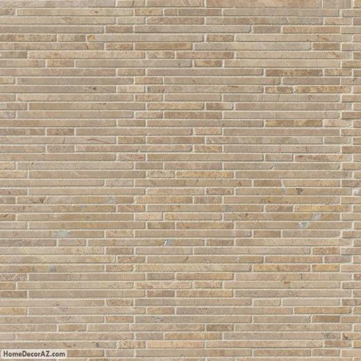 Msi Stone Crema Ivy Bamboo Mosaic Backsplash Thdwg St Cib