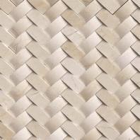MSI Stone Crema Marfil Herringbone Mosaic Backsplash SMOT-ARCH-CREM-HBP