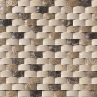 MSI Stone Emperador Blend Arched Brick Mosaic Backsplash SMOT-ARCH-EMPB-1X2P