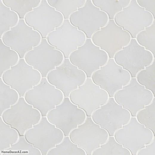 MSI Stone Greecian White Arabesque Mosaic Backsplash SMOT-GRE-AREBESQ