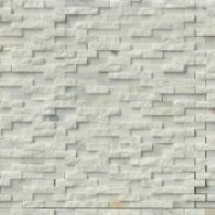 MSI Stone Greecian White Splitface Mosaic Backsplash SMOT-GRE-SFIL10MM