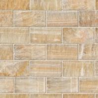 MSI Stone Honey Onyx Subway Mosaic Backsplash SMOT-BRICK-HO8MM