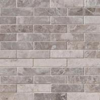 MSI Stone Tundra Gray Mosaic Backsplash SMOT-TUNGRY-1X4P