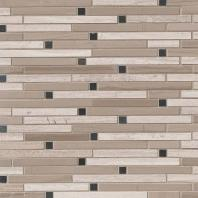 MSI Stone White Oak Blend Interlocking Mosaic Backsplash SMOT-STIL-WOB10MM