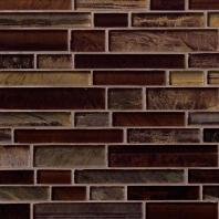 MSI Stone Artista Interlocking Mosaic Backsplash SMOT-GLSIL-ARTISTA8MM