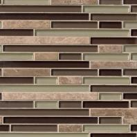 MSI Stone Aspen Interlocking Mosaic Backsplash THDWG-SGL-AS-8MM
