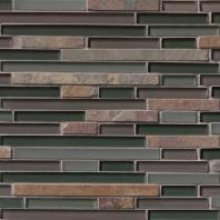 MSI Stone California Gold Interlocking Mosaic Backsplash SMOT-SGLSIL-CGS8MM