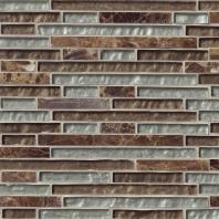 MSI Stone Celestine Blend Interlocking Mosaic Backsplash SMOT-SGLSIL-CB8MM