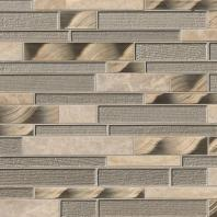 MSI Stone Champagne Toast Interlocking Mosaic Backsplash SMOT-SGLSMTIL-CHATST4MM