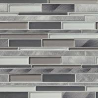 MSI Stone Cityscape Interlocking Pattern Mosaic Backsplash SMOT-GLSMTIL-CS8MM