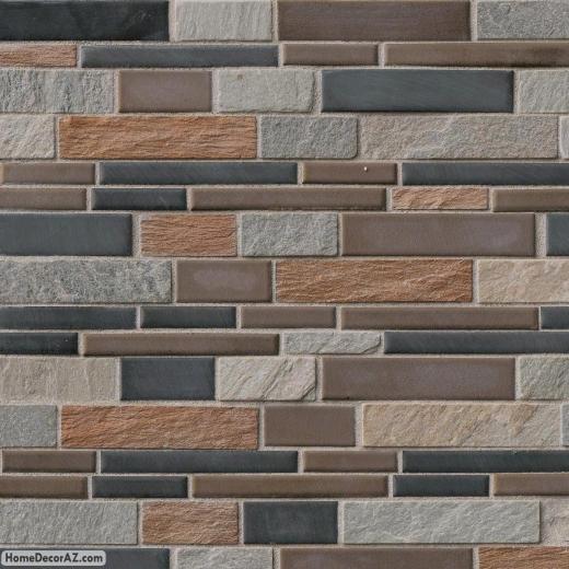 MSI Stone Cobrello Interlocking Mosaic Backsplash SMOT-SPIL-COBRELLO8MM