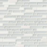 MSI Stone Delano Blanco Mosaic Backsplash SMOT-SGLS-DELBLA6MM