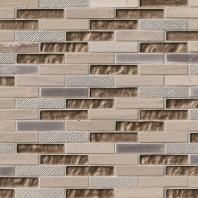 MSI Stone Diamante Brick Mosaic Backsplash SMOT-SGLSMT-DIA8MM