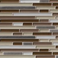MSI Stone Escorial Blend Interlocking Mosaic Backsplash THDWG-GLMT-EBI-8MM