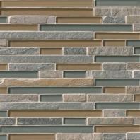 MSI Stone Golden Fields Interlocking Mosaic Backsplash SMOT-SGLSIL-GF8MM