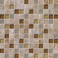 MSI Stone Honey Caramel Mosaic Backsplash THDWG-SGL-HOC-8MM