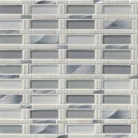 MSI Stone Icelandic Blend Pattern Mosaic Backsplash SMOT-SGLSMT-IB8MM