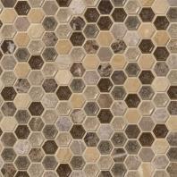 MSI Stone Kensington Hexagon Mosaic Backsplash SMOT-SGLSGG-KENSINGTN8MM