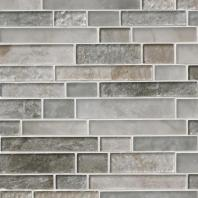 MSI Stone Savoy Interlocking Pattern Mosaic Backsplash SMOT-GLSIL-SAVOY8MM
