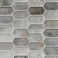 MSI Stone Savoy Picket Pattern Mosaic Backsplash SMOT-GLSPK-SAVOY8MM
