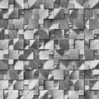 MSI Stone Silver Aluminum Brushed Pattern Mosaic Backsplash SMOT-MET-SLVAL