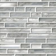 MSI Stone Silver Canvas Interlocking Mosaic Backsplash SMOT-GLSIL-SILCAN8MM