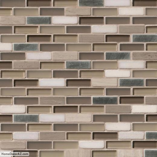 MSI Stone Silver Tip Mosaic Backsplash SMOT-SGLSMT-ST8MM