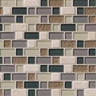 MSI Stone Stonecrest Interlocking Pattern Mosaic Backsplash SMOT-SGLSIL-SC8MM