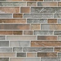 MSI Stone Taos Interlocking Pattern Mosaic Backsplash SMOT-GLSIL-TAOS8MM