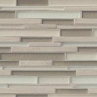 MSI Stone Truffle Stone Interlocking Mosaic Backsplash SMOT-SGLSIL-TS8MM