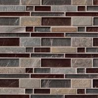 MSI Stone Urbano Blend Interlocking Mosaic Backsplash SMOT-SGLSIL-URB8MM