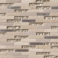 MSI Stone Vienna Blend Brick Mosaic Backsplash SMOT-SGLSMT-VB8MM