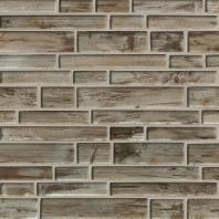 MSI Stone Zirconia Interlocking Pattern Mosaic Backsplash SMOT-GLSIL-ZIRCONIA8MM