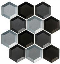 Shimmering Breeze Series Sleepy Afternoon SHM691 Beveled Hexagon Tile
